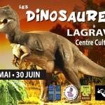Lagrave : Les Dinosaures, exposition temporaire à l'Archéocrypte