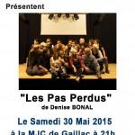 Gaillac : Les pas perdus, théâtre à la MJC