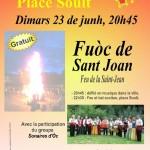 Feu de la saint-jean (c) Centre Occitan del País Castrés