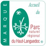 """Marque """"Accueil du Parc naturel régional du Haut-Languedoc"""""""