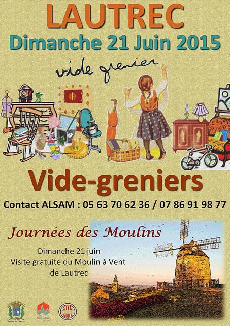 Lautrec vide greniers de lautrec dans ton tarn - Vide grenier 77 2015 ...