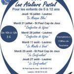 Lautrec : Ateliers Pastel pour enfants