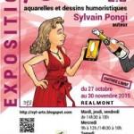 Réalmont : Exposition Vin et Humour «Pschitt! 2.0», Sylvain Pongi expose à la Médiathèque