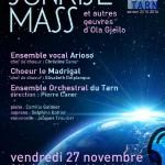 Albi : Sunrise mass d'Ola Gjelio, concert à l'Église de la Madeleine