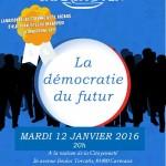Carmaux : La démocratie du futur, café citoyen à la Maison de la Citoyenneté
