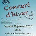 Lavaur : Concert d'hiver de la Lyre de Lavaur