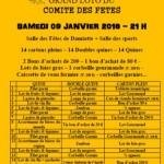 Damiatte : Loto du Comité des fêtes de Damiatte