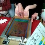 Rabastens : Atelier sérigraphie pour les enfants au Banc Sonore