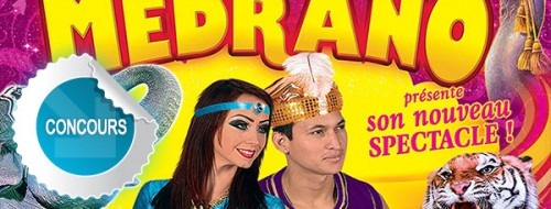 Medrano, Aladin et les 1001 nuits - Concours DTT