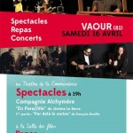 En attendant L'été : Spectacles, Concerts... (c) Association L'Été de Vaour