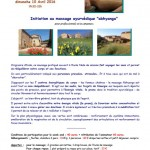 Initiation massage ayurvédique (c) association Naturoplaisir