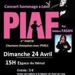Pont-de-Larn : Spectacle Hommage à PIAF
