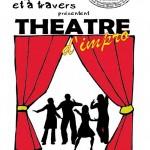 Théâtre d'impro - Improvisator et à travers (c) Association Au Comptoir du Chinabulle