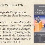 Conférence La dissidence des bons hommes... (c) musée du catharisme de mazamet