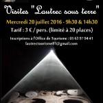 Lautrec : Visite Lautrec sous terre