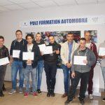 Le pôle formation automobile d'Albi diplôme ses techniciens en maintenance / © CCI du Tarn