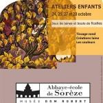 Sorèze : Jeux de laines et bouts de ficelles, atelier à l'Abbaye Ecole