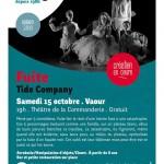 Vaour : Clown & Acrobatie, création en cours au Théâtre de la Commanderie