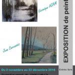 Lautrec : Jean Carcasses et Véronique Azam exposent à l'Office de Tourisme