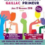 Gaillac : Élection du meilleur primeur et apéro-concert à Piquerouge
