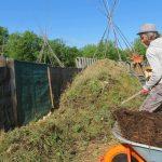 Vaour : Faire son compost, cours jardinage naturel au Jardin d'Emerveille