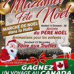 Mazamet : Marché de Noël à la Halle Couverte