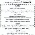Fréjeville : Réveillon de la St Sylvestre à la Salle polyvalente