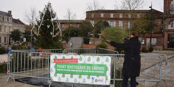 Après les fêtes, Gaillac lance sa collecte de sapins de Noël / © Ville de Gaillac