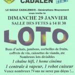 Cadalen : Grand loto à la Salle des fêtes