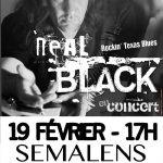 Sémalens : Neal Black en concert à l'espace des charrettes