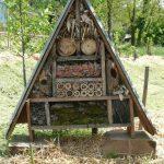 Cabanès : Fabrication d'un hôtel à insecte, atelier à la Bibliothèque
