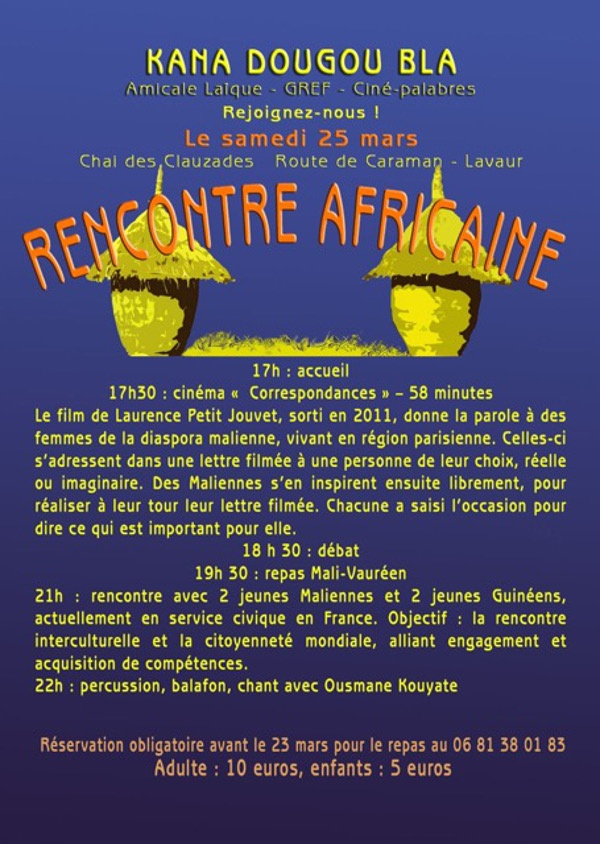 Rencontre africaine france