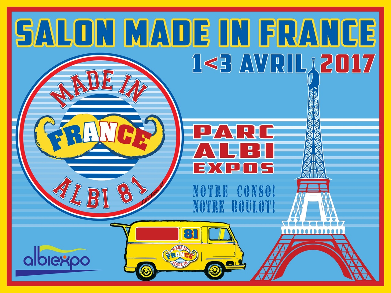 Albi salon du made in france au parc des expositions for Salon made in france 2017