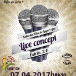 Lagarrigue : Live concept à la Salle des fêtes