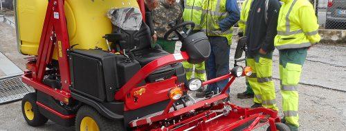 Une Ferrari aux services techniques / © Ville d'Aussillon