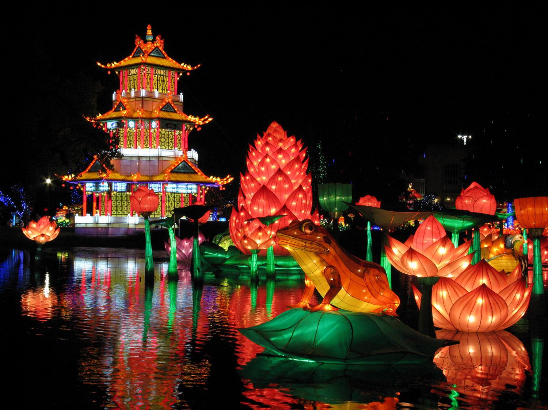 Festival des Lanternes, fééries de chine / © Ville de Gaillac