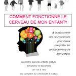 Comment fonctionne le cerveau de mon enfant? (c) association Libres enfants du Tarn