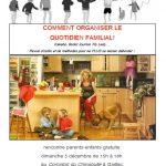 Comment organiser le quotidien familial? (c) association Libres enfants du Tarn