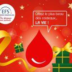 Offrez le plus beau des cadeaux... La vie / © EFS
