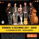 Concert Cuarteto Cabernet ( Musique/ Tango ) (c) CCLPA / CAFE PLUM