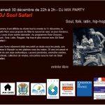 Dj Soul Safari  Dj Mix Party (c) CAFE PLUM