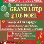 Grand loto de Noël des Arts'Scènics (c) Les Arts'Scénics, LISLE SUR TARN (81310)
