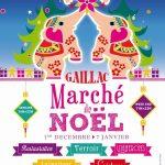 Gaillac : Marché de Noël place de la Libération
