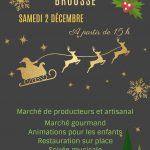 Marché de Noel (c) Mairie de Brousse