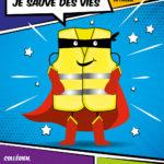 Des gilets jaunes pour les collégiens tarnais / © DR