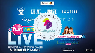 Concours Fun Radio Live, SN Diffusion