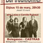 Concert/bal traditionnel (c) Centre Occitan del País Castrés