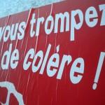 Elections Cantonales 2011 - Affichages électorales dans le Tarn