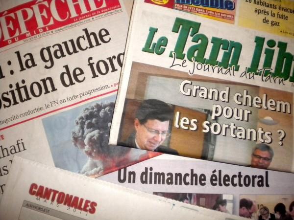 Elections cantonales 2011 dans le Tarn - Trois questions pour le second tour / © Jean Sol pour DTT