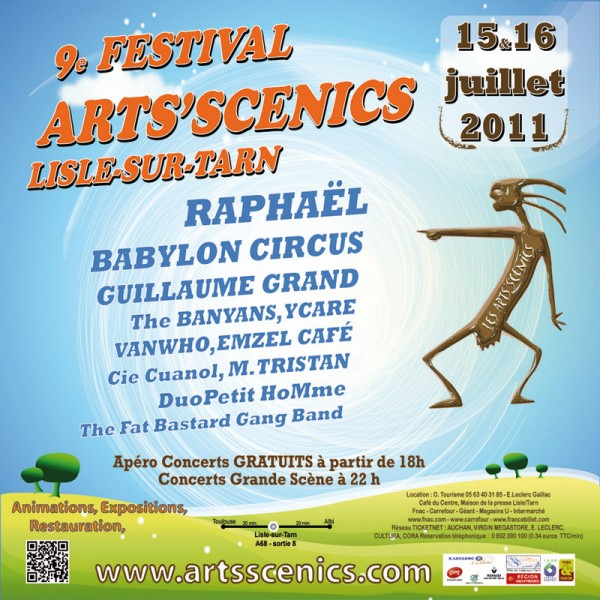 Festival Arts'Scénics 2011 - Lisle sur Tarn